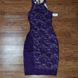 Windsor purple lace dress